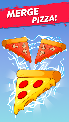 Merge Pizza: Best Yummy Pizza Merger game  screenshots 1