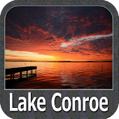 Lake Conroe Gps Map Navigator