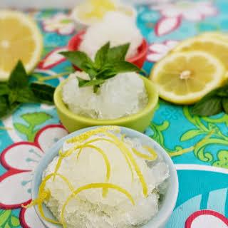 Lemon Italian Ice.
