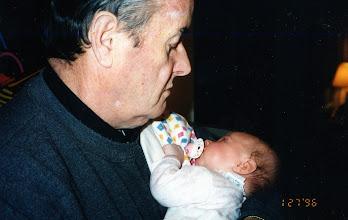 Photo: with great niece Sarah naughton