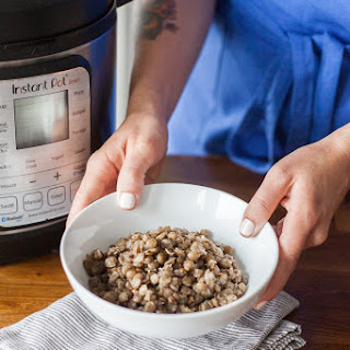 How To Cook Lentils in the Electric Pressure Cooker.