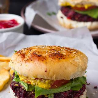 Vegan Quinoa Beet Burgers