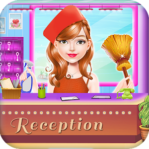 Island Hotel Room Decoration & Cleaning Games