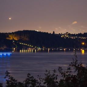by Darrin McNett - Uncategorized All Uncategorized ( water, lights, tacoma, 4th of july, night,  )