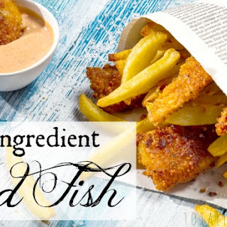3-Ingredient Fried Fish Recipe