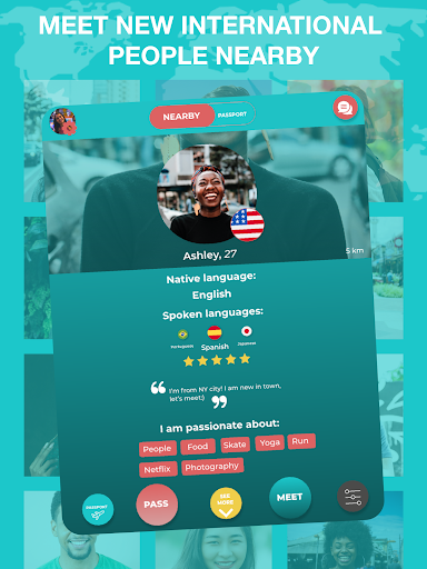 Match - Languages - Meetings - Friends: Leeve 3.4.0 screenshots 6