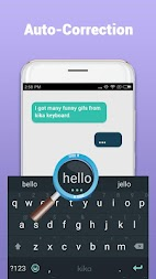 Kika Keyboard - Emoji Keyboard, Emoticon, GIF APK screenshot thumbnail 3