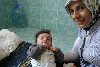 Photo: Melek with Muhammad, Bazit 2013