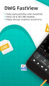 DWG FastView-CAD Viewer & Editor MOD APK 3.13.13 (Unlocked) 1