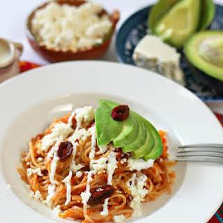 Mexican Noodles.