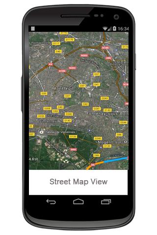 無料通讯Appの地図ビュー|記事Game