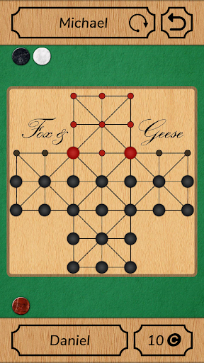 Fox and Geese - Online Board Game Apk by Free Board Games Studio