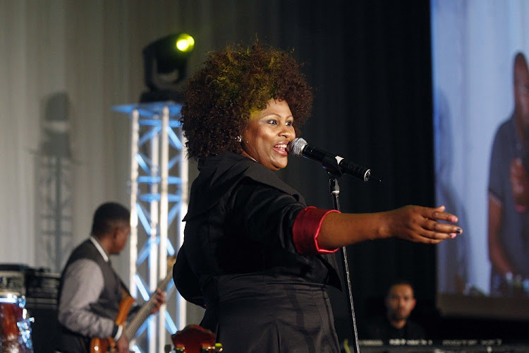 FILE PICTURE: Gloria Bosman performs at the Ekurhuleni Jazz Comes Alive at Birchwood Hotel in Boksburg.
