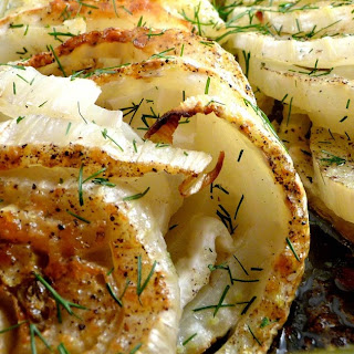 Roast Fennel with Parmesan.