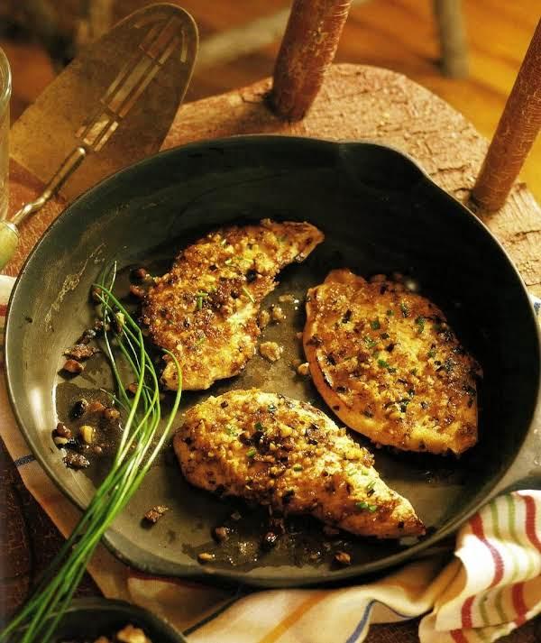 Black Walnut Crusted Turkey Recipe