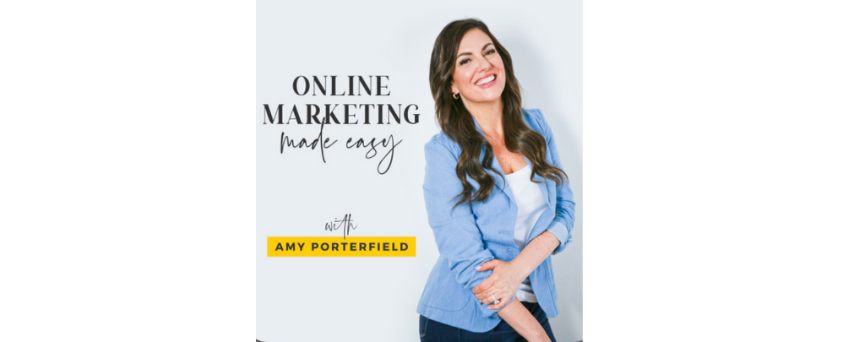 Online Marketing Made Easy with Amy Porterfield logo