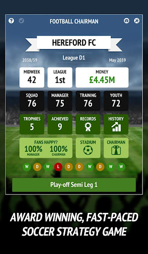 Football Chairman Pro - Build a Soccer Empire  de.gamequotes.net 1