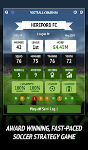 Football Chairman Pro - Dirige un club de fútbol Mod