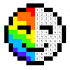 Pixel Artist: Color Number, Pixel Coloring Book icon
