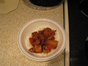 Crockpot Honey Chicken