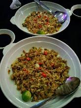 Photo: Bangus Sisig and Tuna Sisig