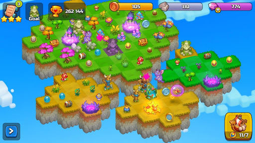 Merge World Above: Merge games Puzzle Dragon 4.0.5615 screenshots 24