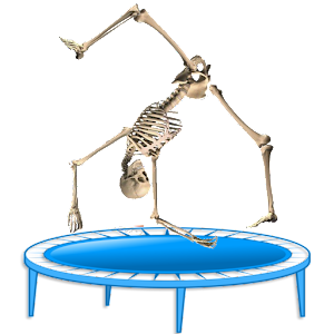 Skeleton Ragdoll, Trampoline for PC and MAC