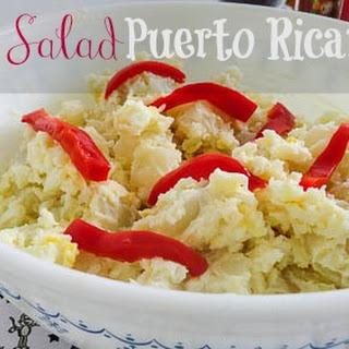 Potato Salad Puertorrican Style