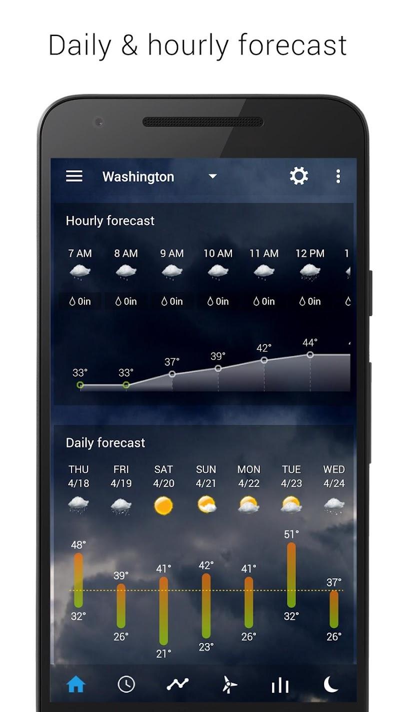 Digital clock & world weather Screenshot 2