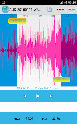 MP3 Cutter - Make Ringtones