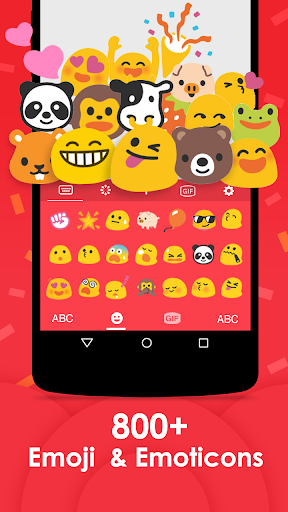 Emoji Keyboard 2018 - Cute Emoticon 1.2.6 screenshots 1