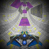3D Spaceship Infinite Tunnel Survival Rush Android APK Download Free By Fusion Games Studio