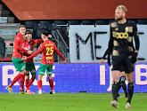 Le Standard s'incline à Ostende et a 5 points de retard sur les Côtiers