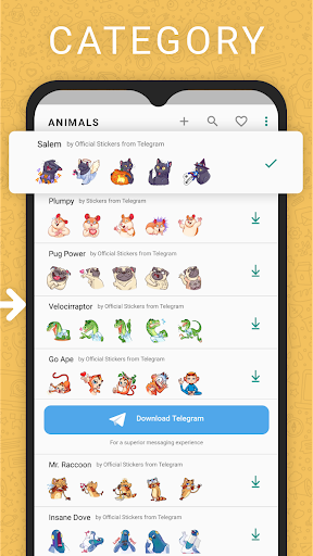 Stickers for new WAStickerApps 2.5.0 screenshots 3