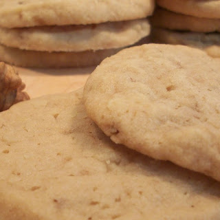 Slice and Bake Butterscotch Cookies.
