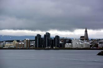 Photo: Reykjavik Skyline from our balcony