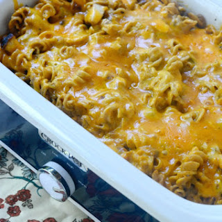 Crockpot Southwest Chicken Pasta
