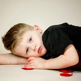 Too tired to smile  by Stephanie Halley - Babies & Children Children Candids
