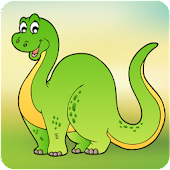 Kids Dinosaur Scratch & Color