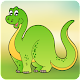 Dinosaur Scratch & Color for kids & toddlers (game)