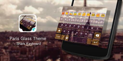 Emoji Keyboard-Paris Glass