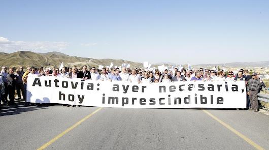 La autovía que cruzará el Almanzora 30 años después