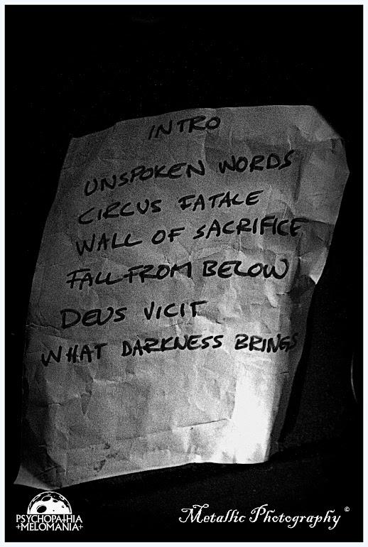 Set-list Orkan @Glaz'Art, Paris 25/02/2013