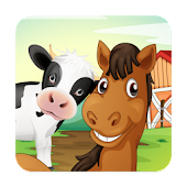 Farm Animal Learning Flashcard