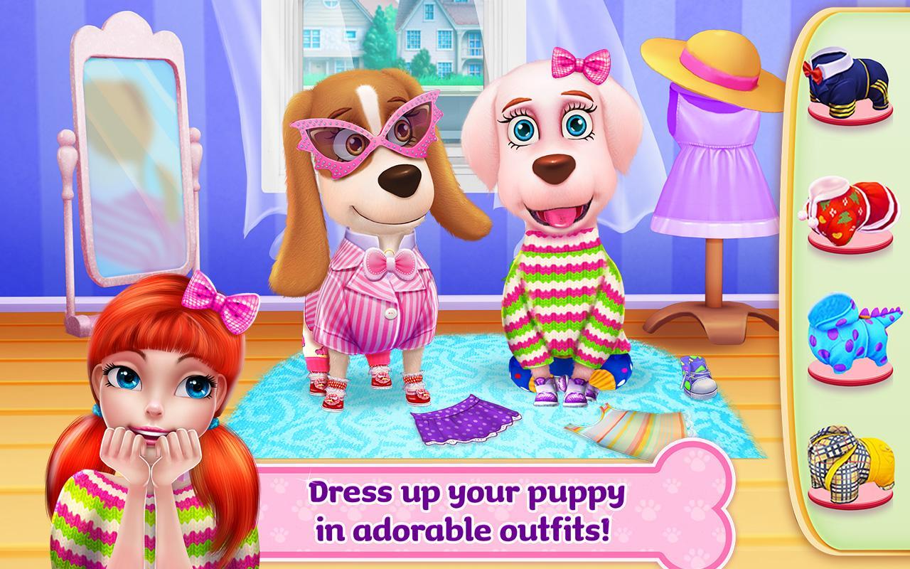 Dress up your pet game - Puppy Life Secret Pet Party Screenshot