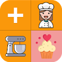 Confectioner's calculator icon