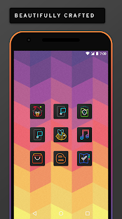 Neon Lit Icon Pack Screenshot