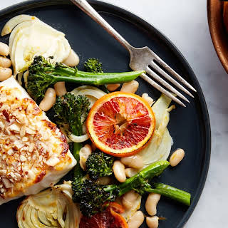 Broiled Cod With Fennel and Orange.