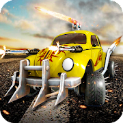 Game Bumble City 2: Mini Car street fight Robo war 2018 APK for Windows Phone