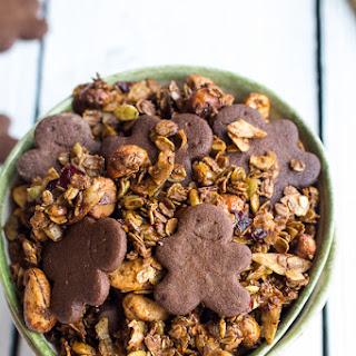 Gingerbread Man Granola
